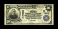 National Bank Notes:Pennsylvania, Scenery Hill, PA - $10 1902 Plain Back Fr. 624 The First NB Ch. #(E)7262. This Washington County issuer bears one of th...