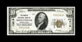 National Bank Notes:Pennsylvania, Shenandoah, PA - $10 1929 Ty. 1 The Miners NB Ch. # 13619. Originalsurfaces, embossing, and dark inks are characteristi...