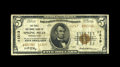 National Bank Notes:Pennsylvania, Spring Mills, PA - $5 1929 Ty. 2 The First NB Ch. # 11213. Thisissuer was the only federally chartered thrift instituti...