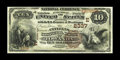 National Bank Notes:Pennsylvania, Towanda, PA - $10 1882 Brown Back Fr. 487 The Citizens NB Ch. #(E)2337. This is one of four Brown Backs reported on thi...