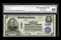 National Bank Notes:Pennsylvania, Washington, PA - $5 1902 Plain Back Fr. 599 The Citizens NB Ch. #3383. A bright and fresh example, graded CGA Gem Unc...