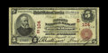 National Bank Notes:Pennsylvania, Wilkes-Barre, PA - $5 1902 Red Seal Fr. 587 The Second NB Ch. # (E)104. Despite a large number of notes known on this ba...