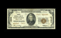National Bank Notes:Pennsylvania, Wilkes-Barre, PA - $20 1929 Ty. 2 Miners NB Ch. # 13852. This VeryFine example comes from the last of six issuers c...