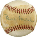 "Autographs:Baseballs, Bill Hallahan Single Signed Baseball. William ""Wild Bill"" Hallahangot the moniker due to his wildness on the mound. The le..."