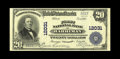 National Bank Notes:Tennessee, Harriman, TN - $20 1902 Plain Back Fr. 660 The First NB Ch. #12031. This note has not been picked up by the census rada...