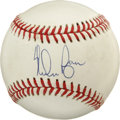 Autographs:Baseballs, Nolan Ryan Single Signed Baseball. One of the greatest pitchers toever stand atop a major league mound, and member of the ...