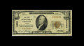 National Bank Notes:Virginia, Coeburn, VA - $10 1929 Ty. 1 The First NB Ch. # 6899. This is atougher Wise County bank, with the Series 1929 census fr...