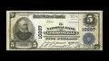National Bank Notes:Virginia, Gordonsville, VA - $5 1902 Plain Back Fr. 602 The NB ofGordonsville Ch. # 10287. Two large are shown in the Kelly censu...