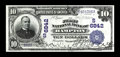 National Bank Notes:Virginia, Hampton, VA - $10 1902 Date Back Fr. 616 The First NB Ch. #(S)6842. A quick survey of this note one may assume it is Ch...