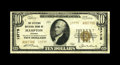 National Bank Notes:Virginia, Hampton, VA - $10 1929 Ty. 2 The Citizens NB Ch. # 13775. Notchartered until September, 1933, this bank managed to issu...