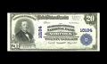 National Bank Notes:Virginia, Norfolk, VA - $20 1902 Plain Back Fr. 654 The Seaboard NB Ch. #10194. Previously this note appeared in our 2005 Central...