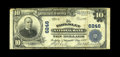 National Bank Notes:Virginia, Parksley, VA - $10 1902 Plain Back Fr. 624 The Parksley NB Ch. #6246. A tough note from this small eastern shore commun...