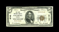 National Bank Notes:Virginia, Strasburg, VA - $5 1929 Ty. 1 The Peoples NB Ch. # 8746. A top endExtremely Fine that is bright and crispy. This ba...