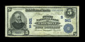 National Bank Notes:West Virginia, Fairmont, WV - $5 1902 Date Back Fr. 590 The First NB Ch. # (S)961.A nice middle grade Very Fine+ example from this...