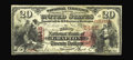 National Bank Notes:West Virginia, Grafton, WV - $20 1875 Fr. 434 The First NB Ch. # 2445. Thispreviously unreported note is the only 1875 $20 known on th...