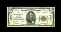 National Bank Notes:West Virginia, Logan, WV - $5 1929 Ty. 2 The NB Ch. # 13954. This new addition tothe census grades a crisply solid Very Fine+ and ...