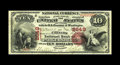 "National Bank Notes:West Virginia, Parkersburg, WV - $10 1875 Fr. 420 The Citizens NB Ch. # 2649.Described in our FUN 2005 catalog as ""A very lovely West ..."