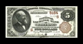 National Bank Notes:West Virginia, Wheeling, WV - $5 1882 Brown Back Fr. 477 The National Exchange Bank Ch. # (S)5164. A bright and well centered example. ...