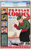 Platinum Age (1897-1937):Miscellaneous, Popular Comics #14 (Dell, 1937) CGC FN/VF 7.0 Cream to off-whitepages....