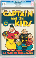 Golden Age (1938-1955):Miscellaneous, Single Series #1 The Captain and the Kids (United Features Syndicate, 1938) CGC VF 8.0 Off-white to white pages....