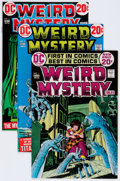 Bronze Age (1970-1979):Miscellaneous, Weird Worlds/Weird Mystery Tales Group (DC, 1972-74) Condition:Average VF.... (Total: 13 Comic Books)