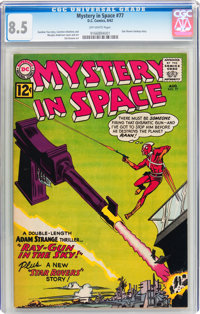 Mystery in Space #77 (DC, 1962) CGC VF+ 8.5 Off-white pages
