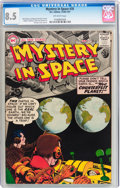 Silver Age (1956-1969):Science Fiction, Mystery in Space #35 (DC, 1957) CGC VF+ 8.5 Off-white pages....