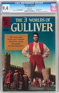 Silver Age (1956-1969):Adventure, Four Color #1158 Three Worlds of Gulliver (Dell, 1961) CGC NM 9.4 White pages....