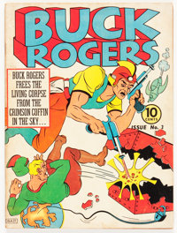Buck Rogers #3 (Eastern Color, 1941) Condition: FN+