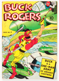 Golden Age (1938-1955):Adventure, Buck Rogers #4 (Eastern Color, 1942) Condition: VG/FN....