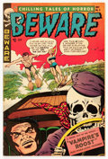 Golden Age (1938-1955):Horror, Beware #9 (Trojan/Prime, 1954) Condition: VF-....