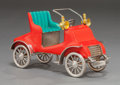 Silver Smalls:Other , A TIFFANY & CO. SILVER AND ENAMEL CIRCUS CAR DESIGNED BY GENEMOORE . Tiffany & Co., New York, New York, circa 1990. GeneMo...