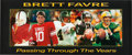 "Football Collectibles:Photos, Brett Favre ""Passing Through the Years"" Signed Oversized PhotographPrints Lot of 5...."