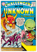 Silver Age (1956-1969):Science Fiction, Challengers of the Unknown #1 (DC, 1958) Condition: VG....