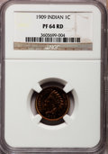 Proof Indian Cents: , 1909 1C PR64 Red NGC. NGC Census: (38/54). PCGS Population (36/46).Mintage: 2,175. Numismedia Wsl. Price for problem free ...