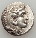 Ancients:Greek, Ancients: MACEDONIAN KINGDOM. Alexander III the Great (336-323 BC).AR tetradrachm (17.08 gm)....