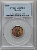 Lincoln Cents: , 1909 1C MS65 Red and Brown PCGS. PCGS Population (182/22). NGCCensus: (157/38). Mintage: 72,702,616. Numismedia Wsl. Price...