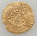 Ancients:Byzantine, Ancients: CRUSADERS. Latin Kingdom of Jerusalem. Ca. 11th-12th centuries. AV bezant (3.54 gm)....