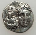 Ancients:Ancient Lots  , Ancients: MOESIA - SELEUCID KINGDOM. Lot of four (4) AR and  Æ.... (Total: 4 items)