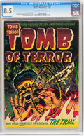 Golden Age (1938-1955):Horror, Tomb of Terror #10 (Harvey, 1953) CGC VF+ 8.5 Cream to off-whitepages....