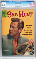 Silver Age (1956-1969):Adventure, Sea Hunt #12 (Dell, 1962) CGC NM+ 9.6 Off-white to white pages....