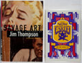 Books:Mystery & Detective Fiction, Jim Thompson. Group of Two First Edition Books, One Limited.1986-1995. Now and on Earth is limited to 400 numbere...(Total: 2 Items)