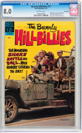 Silver Age (1956-1969):Humor, Beverly Hillbillies #17 Bethlehem pedigree (Dell, 1967) CGC VF 8.0 Off-white pages....