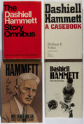 Books:Mystery & Detective Fiction, Dashiell Hammett. Group of Four Books About Hammett. Various, 1966-1984. Both books by William F. Nolan are signed, one wi... (Total: 4 Items)