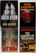 Books:Mystery & Detective Fiction, John Gardner. Group of Four First Edition Books. Various,1979-2000. Very good or better condition.... (Total: 4 Items)