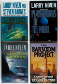 Books:Science Fiction & Fantasy, [Jerry Weist]. Larry Niven. Group of Four First Edition Books, Three Signed. Various, 1989-2006. Saturn's Race inc... (Total: 4 Items)