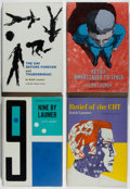 Books:Science Fiction & Fantasy, [Jerry Weist]. Keith Laumer. Group of Four First Edition Books, All With Review Slips Laid In. Doubleday, 1967-1971. Near fi... (Total: 4 Items)