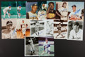 Autographs:Photos, Baseball Greats Signed Photographs Lot Of 24....