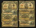 Canadian Currency: , A Large Lot of 25¢ Canadian Fractional Notes.. ... (Total: 8 notes)
