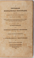 Books:Reference & Bibliography, A Universal Biographical Dictionary, Containing the Lives of theMost Celebrated Characters of Every Age and Nation. Nor...